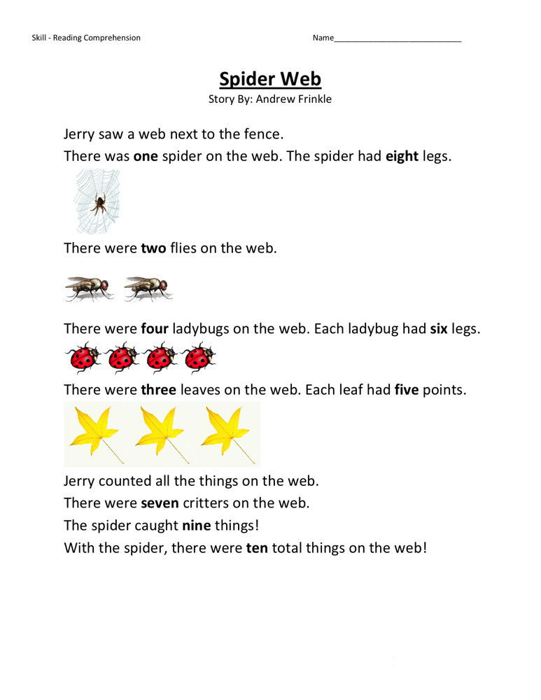 2nd Grade Reading With Pictures Worksheets