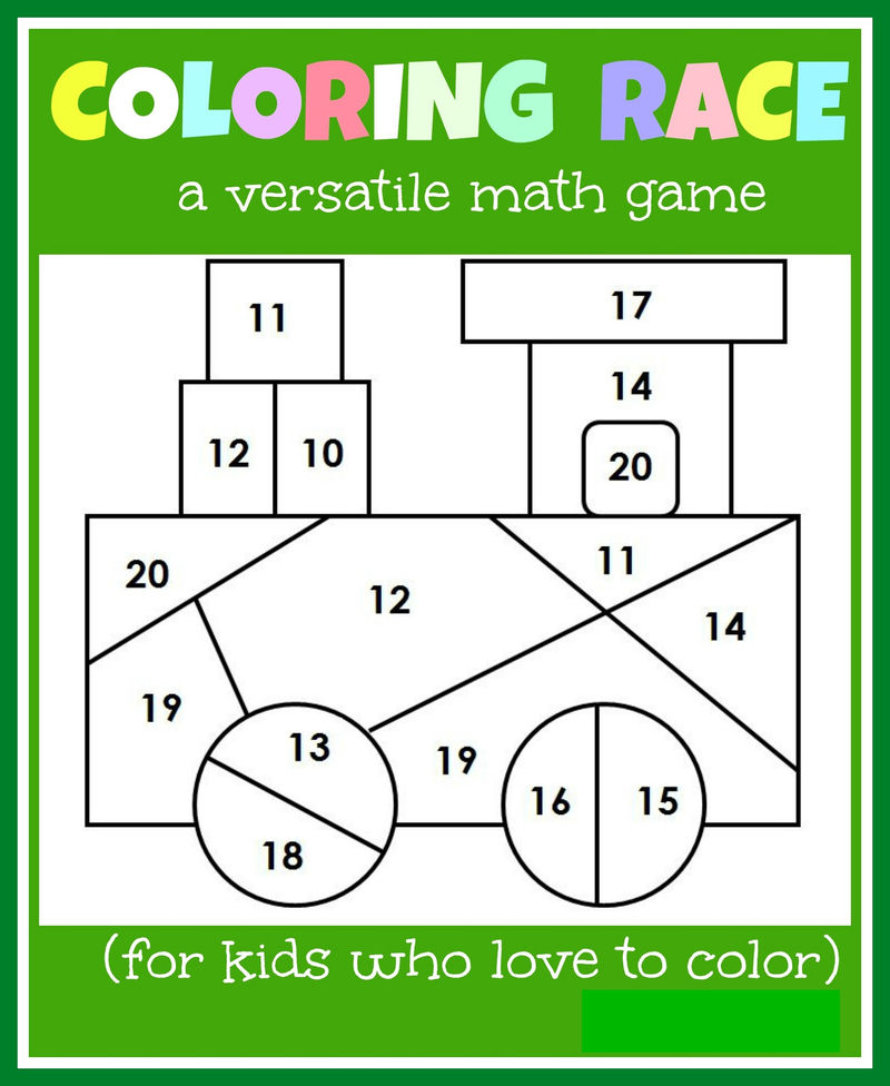 4 Year Old Worksheets For Coloring