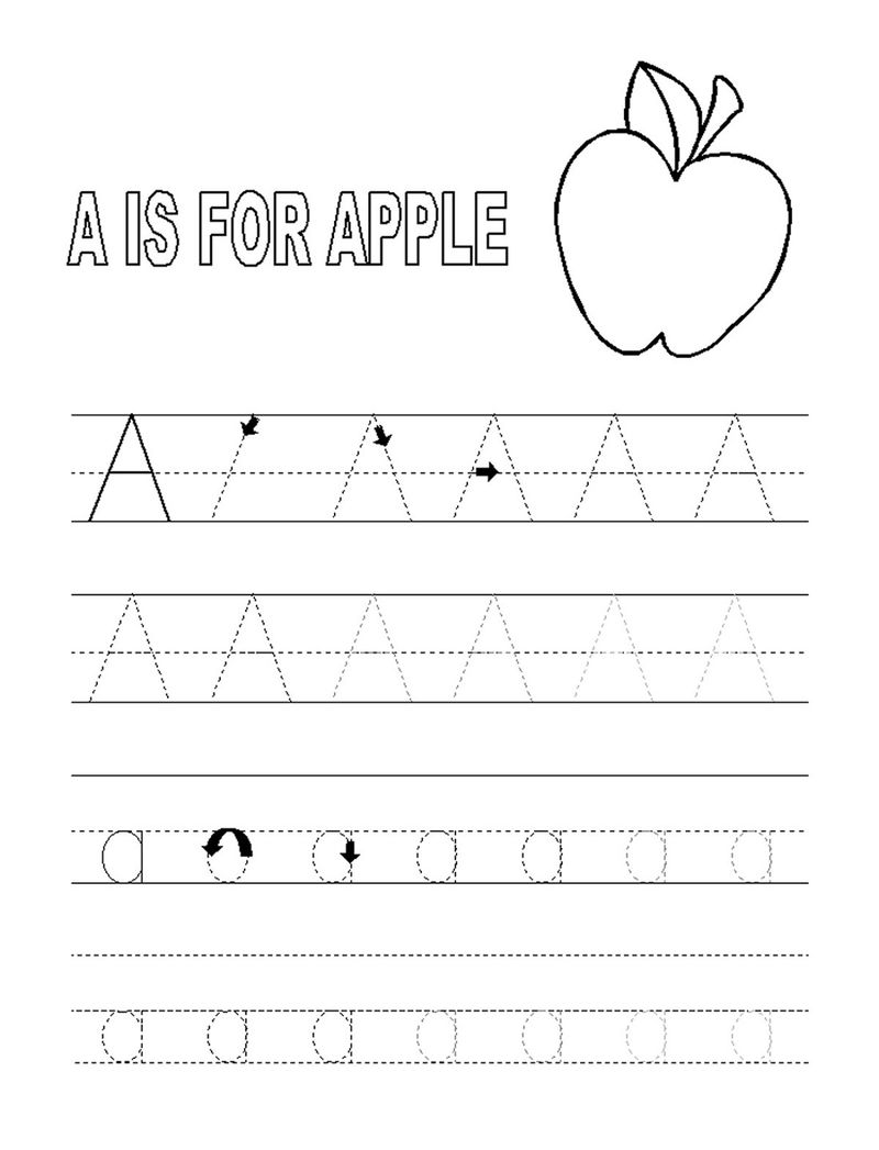 Abc Tracing Pages Apple 001