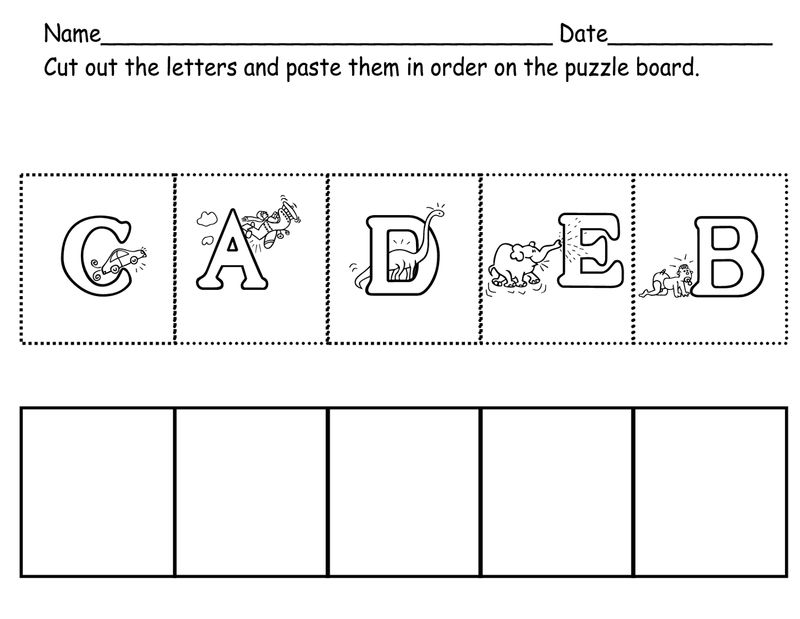 Abc Worksheets Free For Kids
