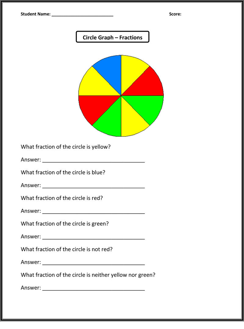 Activity Worksheets For Kids Graph
