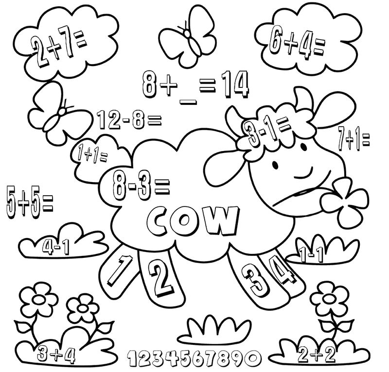 Add And Subtract Kindergarten Math Worksheets