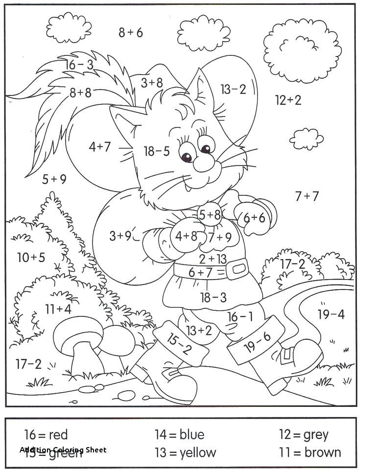 Addition And Subtraction Coloring Worksheets For 3rd Grade 1