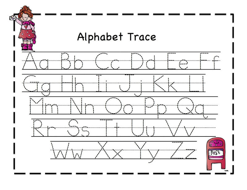 Alphabet Tracing Pages 0