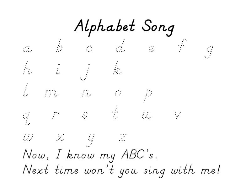 Alphabet Tracing Pages 3 001