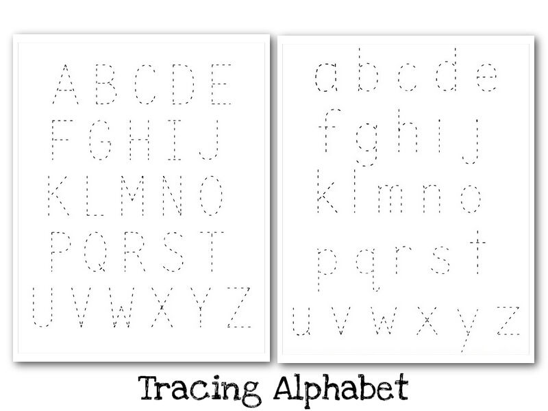 Alphabet Tracing Printables 2 001