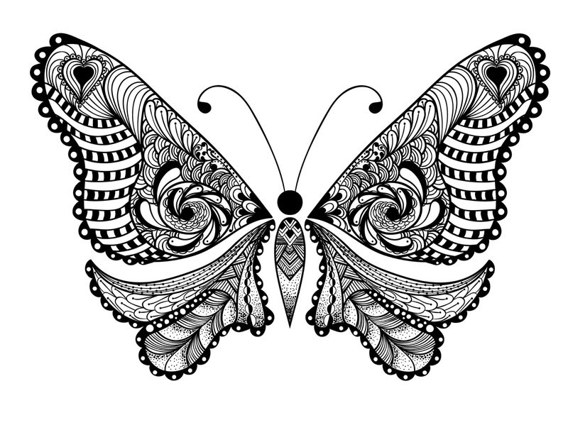 Animal Coloring Pages For Adults Printable 001