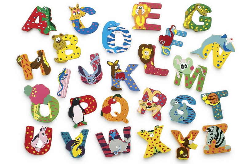 Animal Shaped Letters To Print