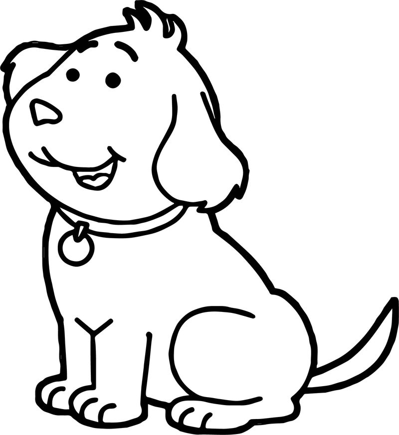 Arthur Cute Dog Coloring Page