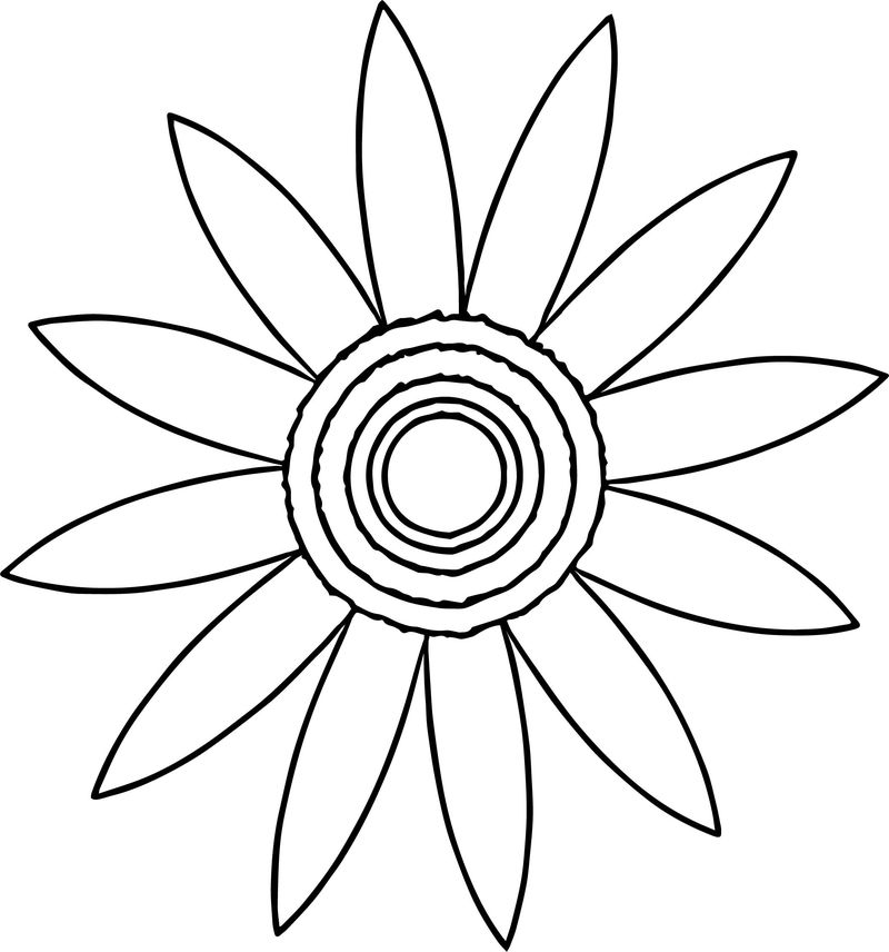 Autumn Star Leaf Coloring Page