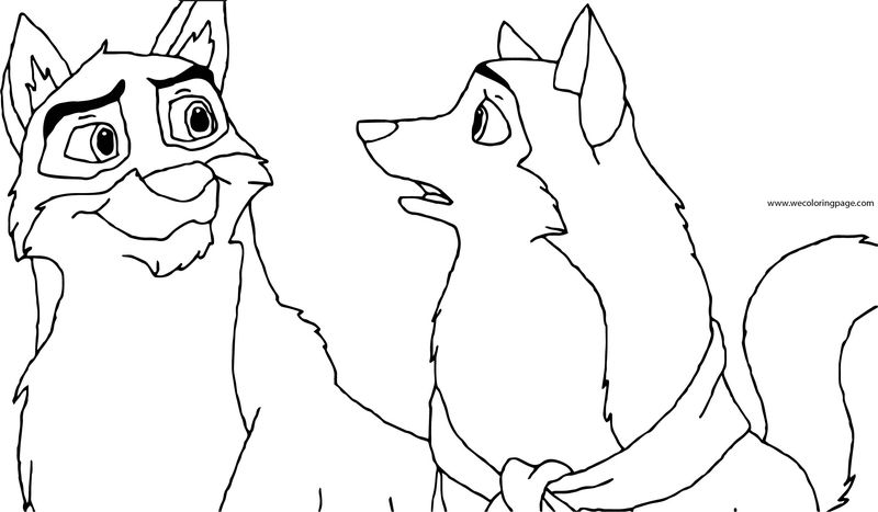 Balto Wolf Coloring Page 149