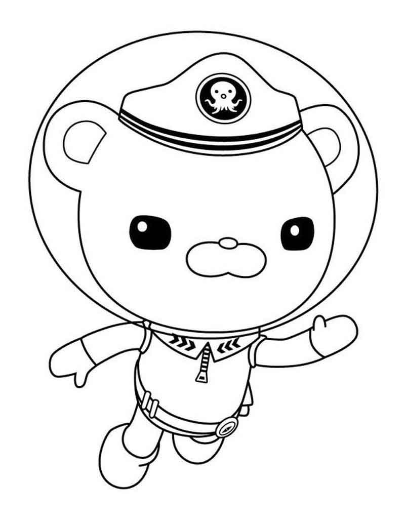 Barnacles Octonauts Coloring Pages