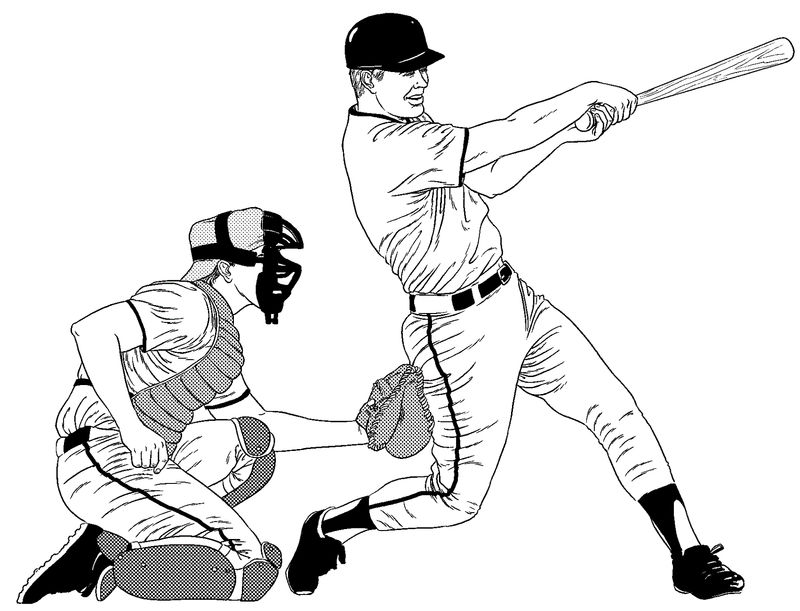 Baseball Color Pages 2016