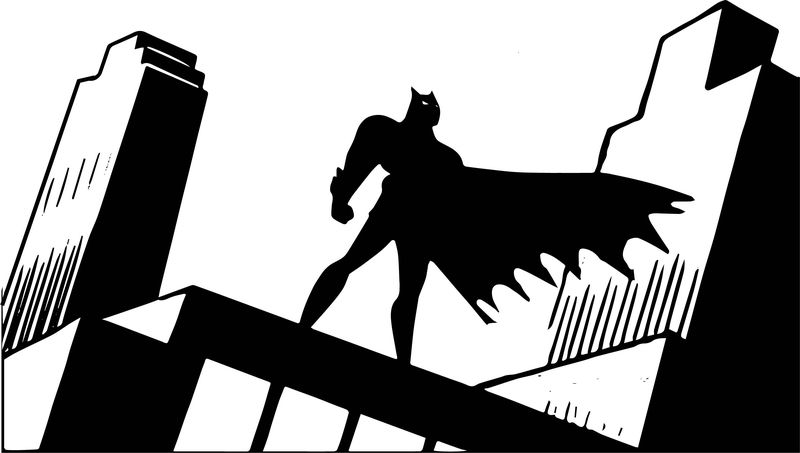 Batman The Animated Series Coloring Page
