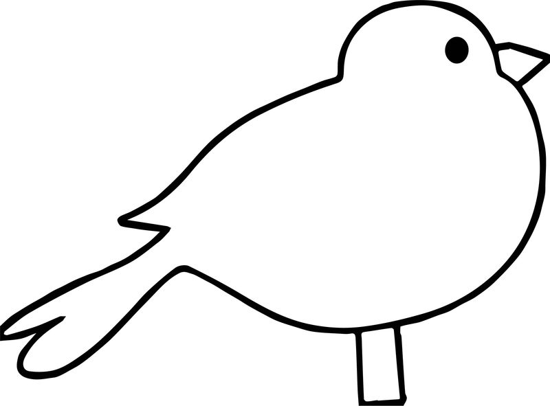 Be Bird Coloring Page