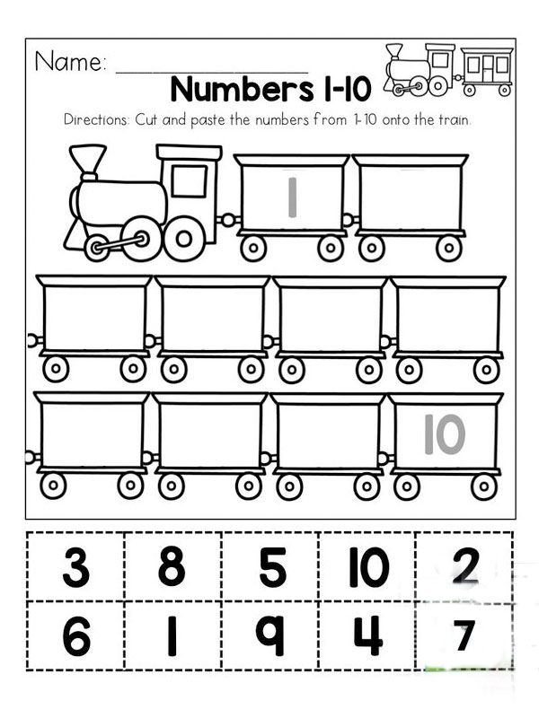 Before And After Number Worksheets For Kindergarten