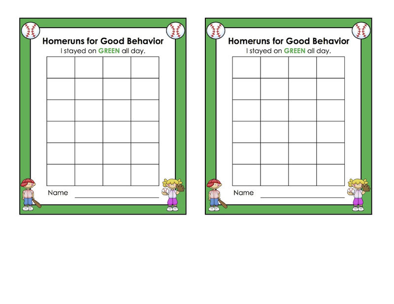 Behaviour Charts For 6 Year Olds 2 002