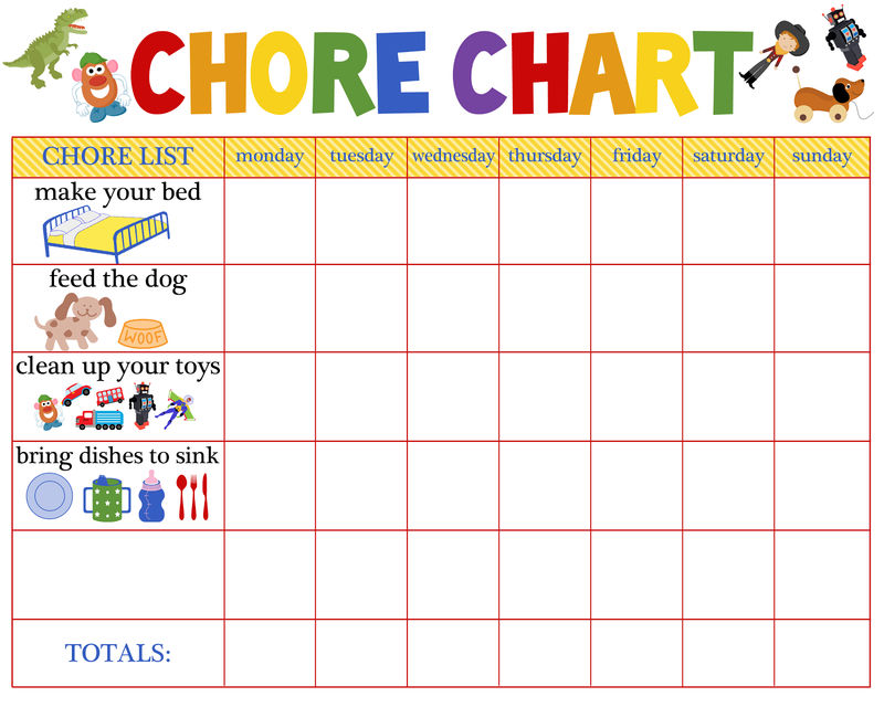 Behaviour Charts For 6 Year Olds 5