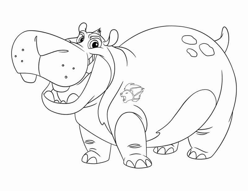 Beshte Lion Guard Coloring Pages