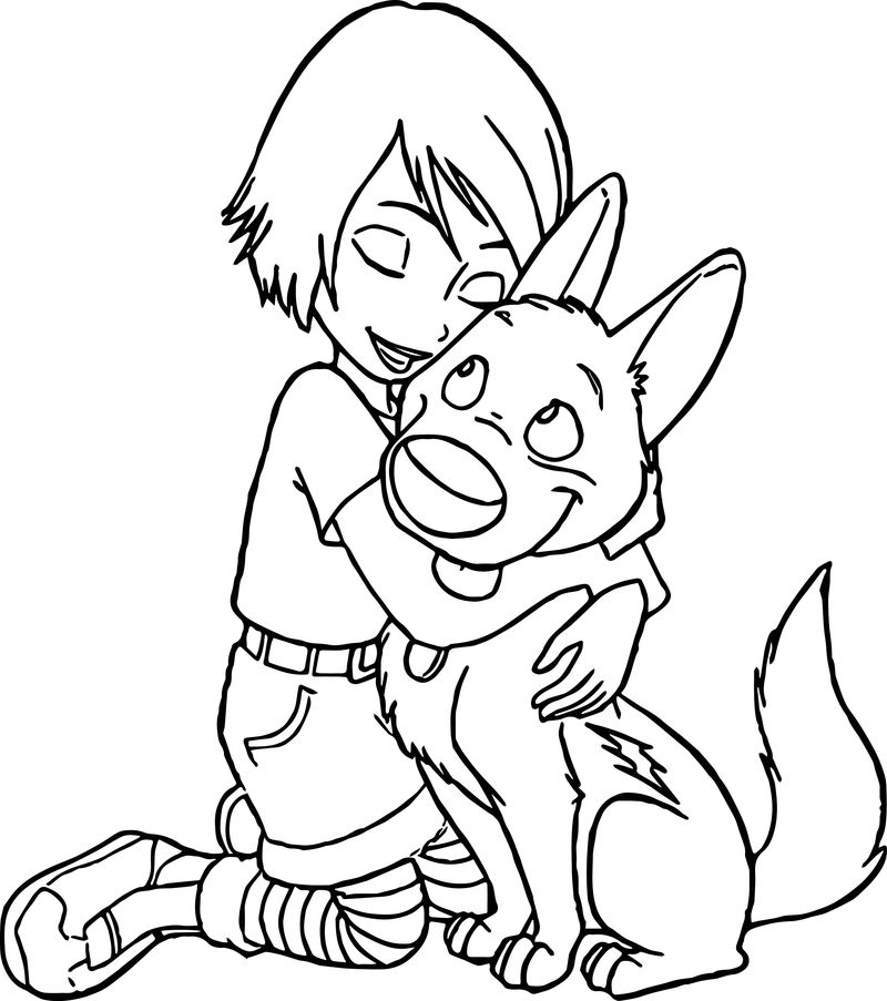 Bolt Dog 12 Coloring Pages