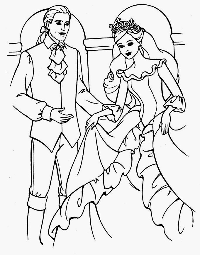 Bride And Groom Wedding Print Out