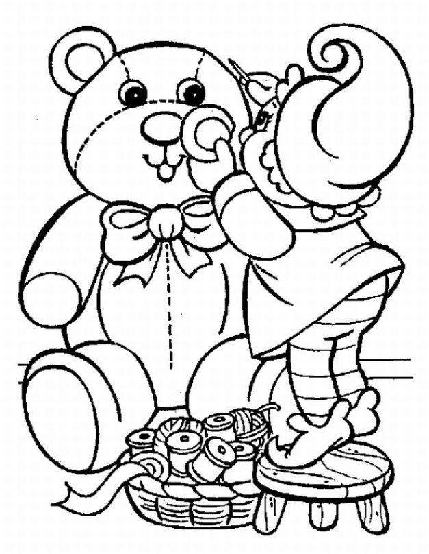 Christmas Coloring Pages For Preschooler