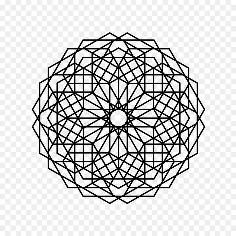 Circle Shape Pattern Geometric