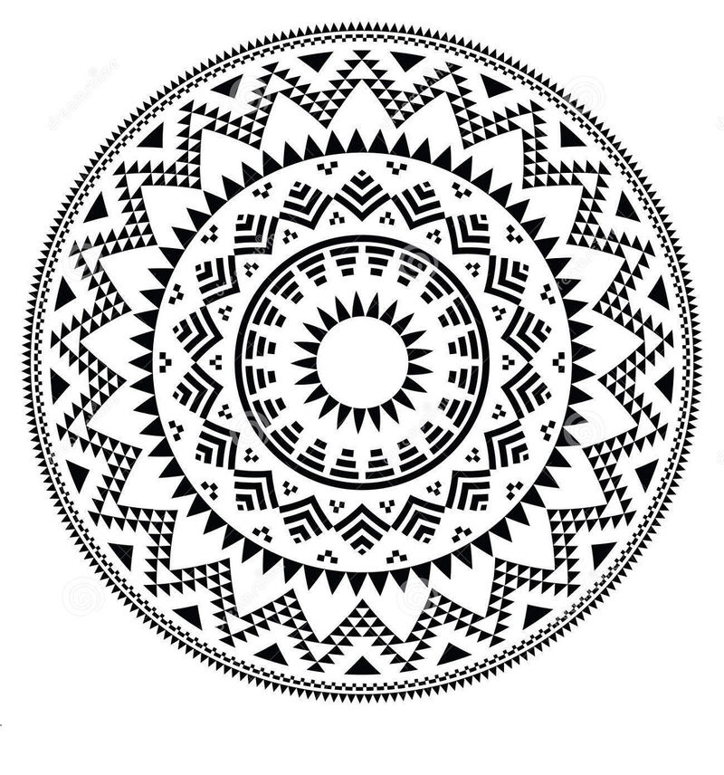 Circle Shape Pattern Nice