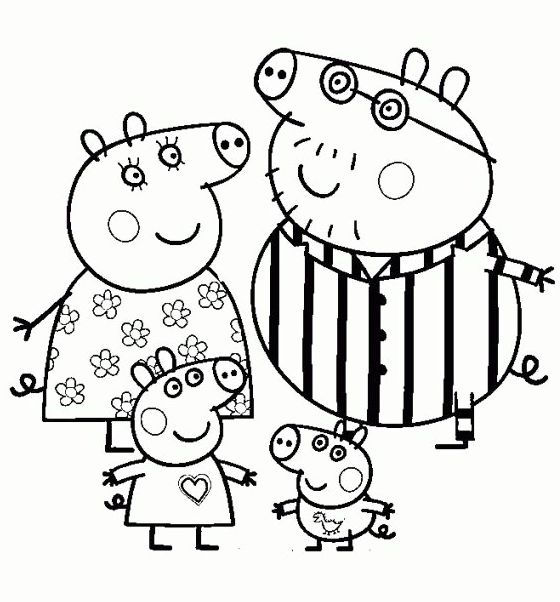 Collection Of Peppa Pig Coloring Book Nick Jr