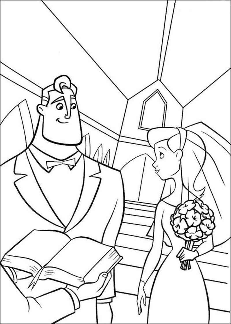 Color The Incredibles