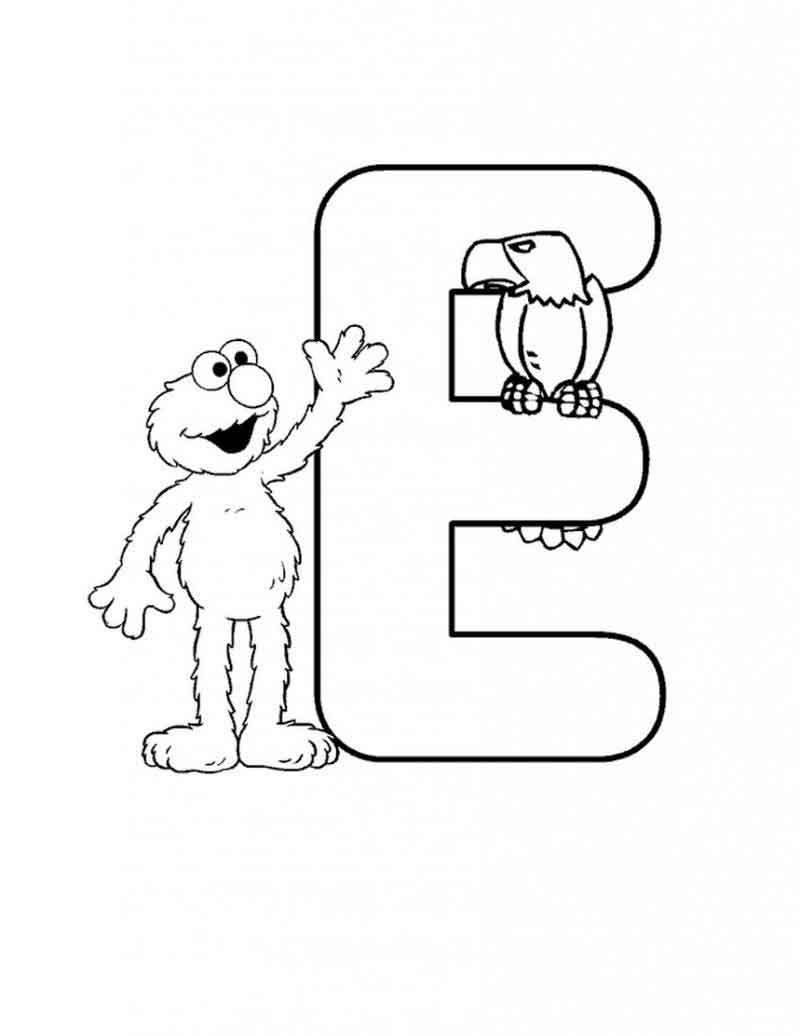 Coloring Page Of Elmo
