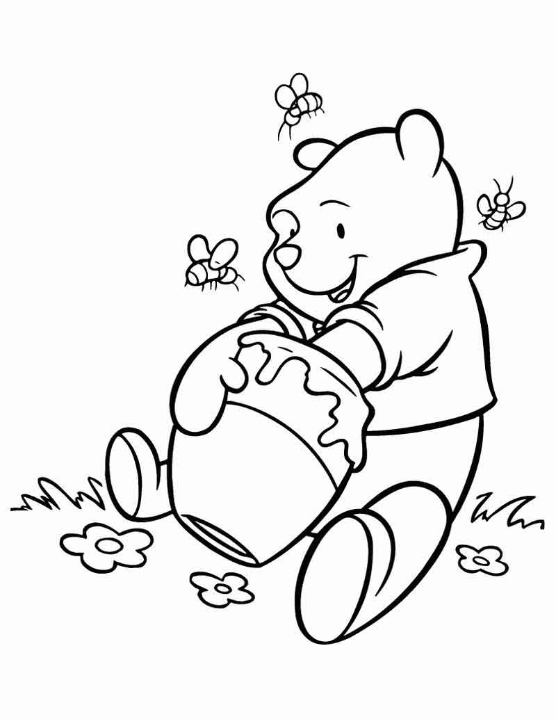 Coloring Pages For Winnie The Pooh