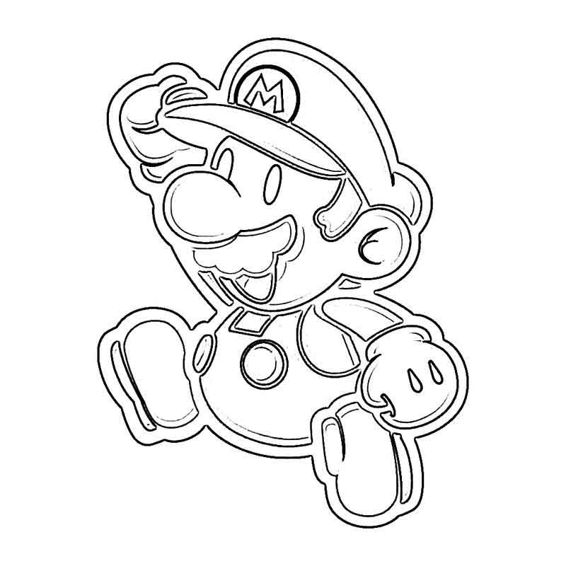 Coloring Pages Mario