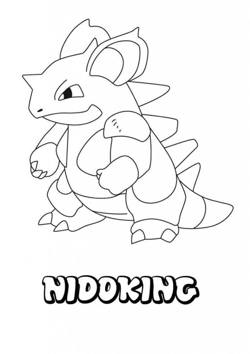 Coloring Pages Pokemon Characters