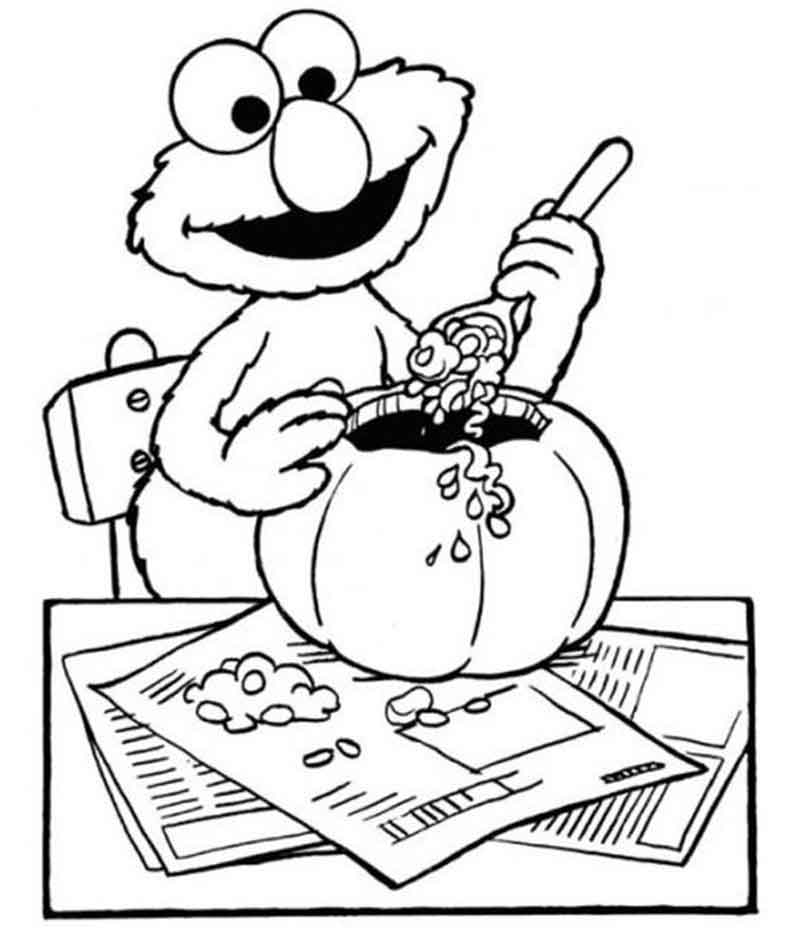 Coloring Pages Of Elmo