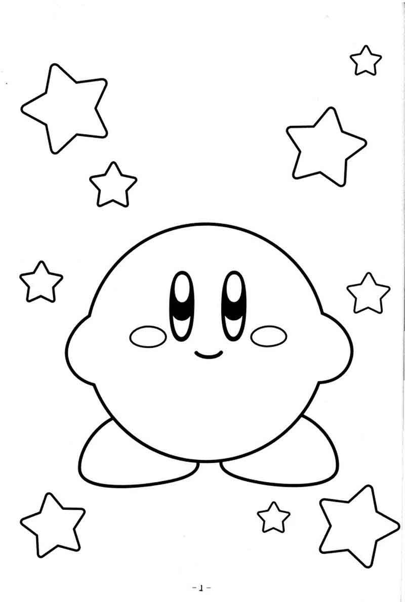 Coloring Pages Of Kirby