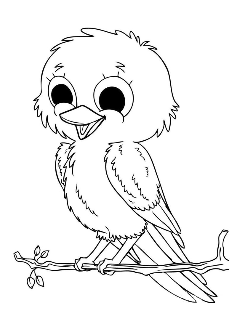 Coloring Book Animals Simple 001