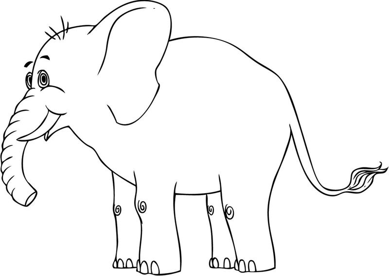 Coloring Pages Elephants
