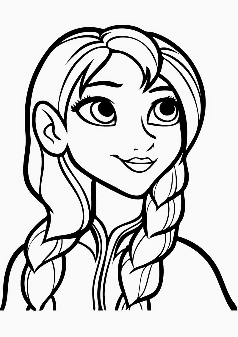 Coloring Pages For Girls Frozen