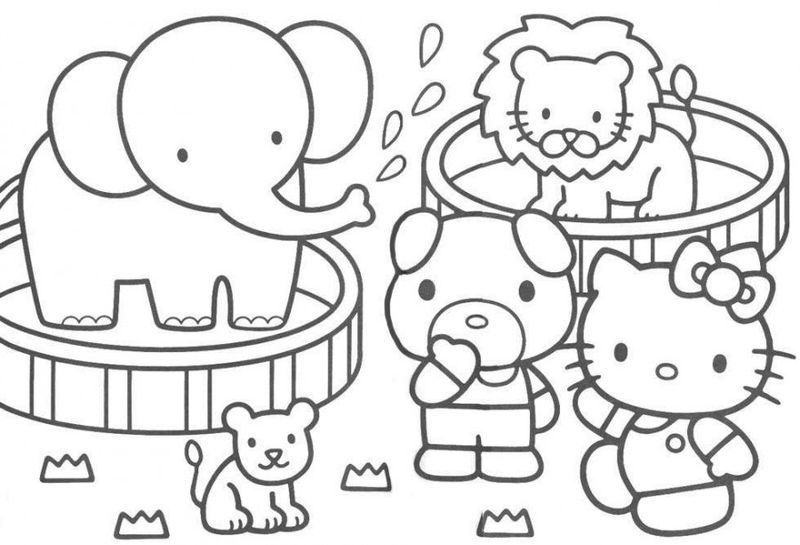 Coloring Pages For Toddlers To Print Animal