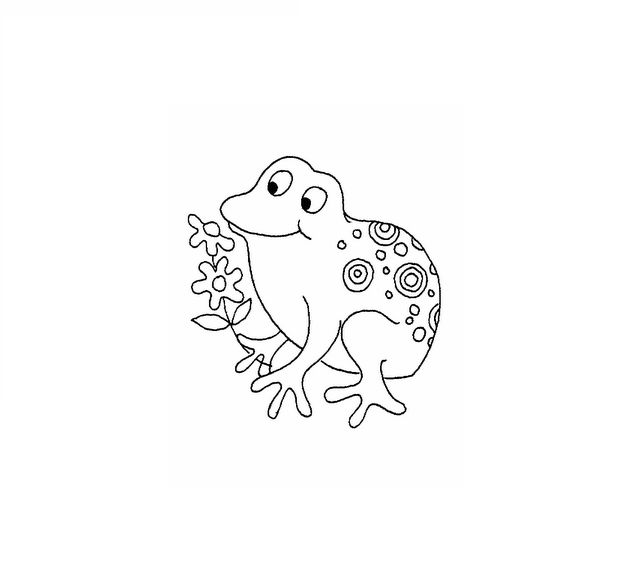 Coloring Pages Frogs