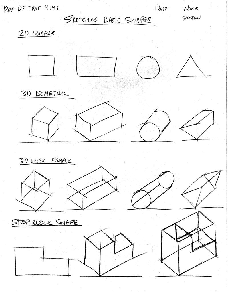 Coloring Pages Geometric Shapes