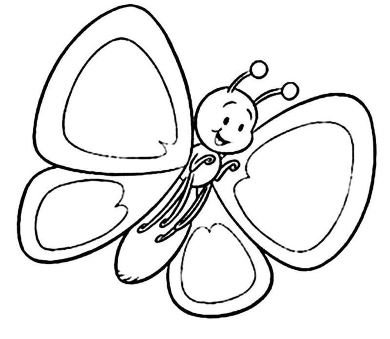 Coloring Pictures For Pre School Kids Simple