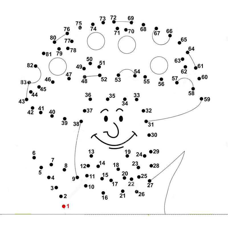 Connect The Dots With Numbers 1 83 001