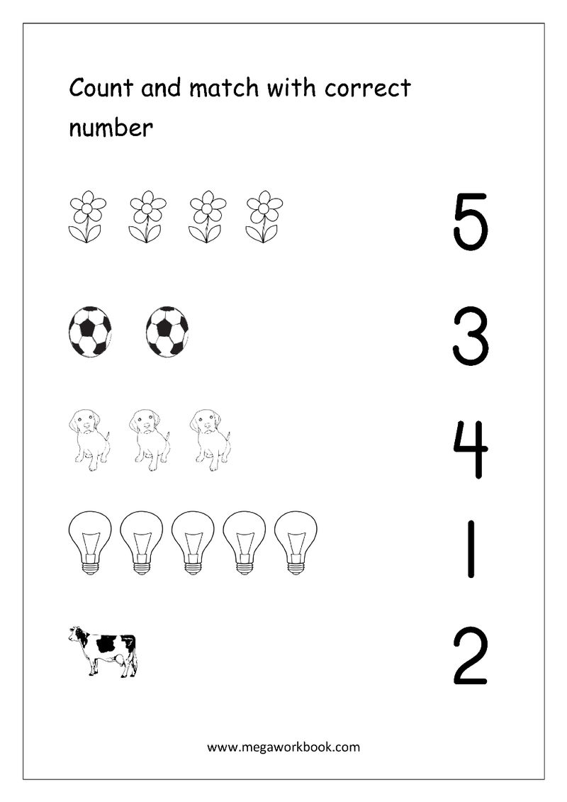 Connect The Numbers Math Coloring Pages