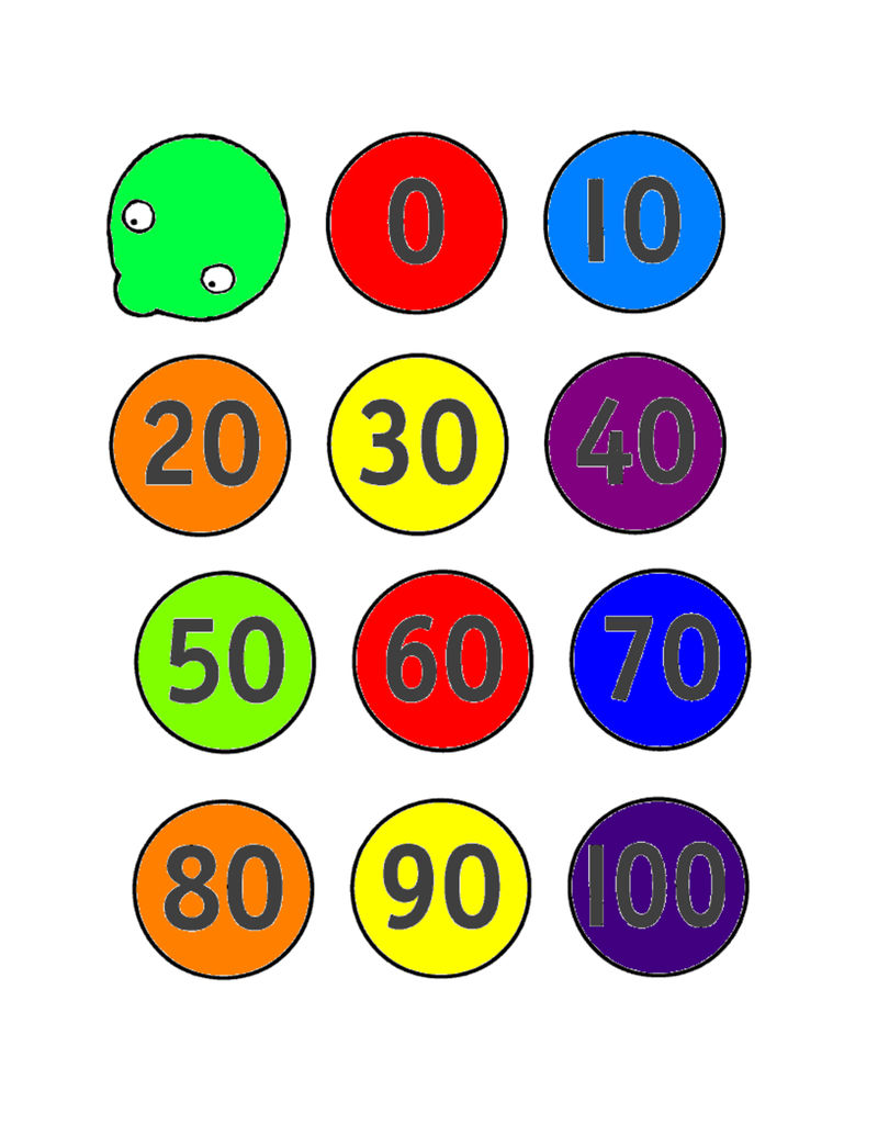 Count By 10s Worksheets Kindergarten