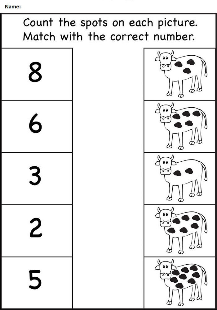 Count Worksheet For Nursery Class 001