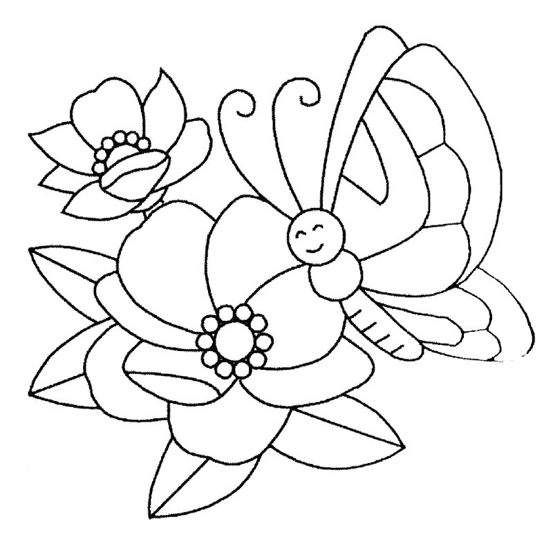 Crayola Coloring Pages Flowers