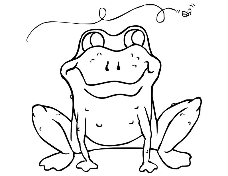 Crazy Frog Coloring Pages