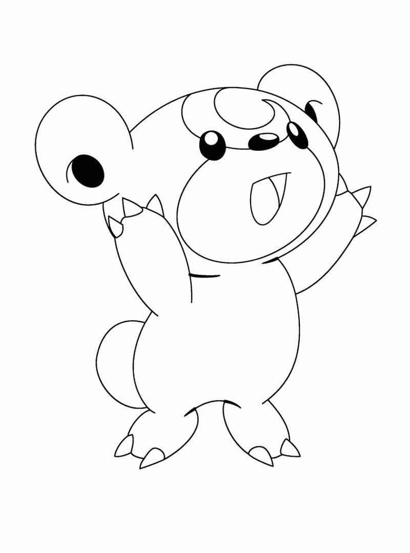 Cute Pokemon Coloring Pages (1)